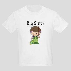 Big Sister Kids Fishing T-Shirt