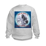 TAKE ME BACK TO PLANET OF THE DOGS Kids Sweatshirt