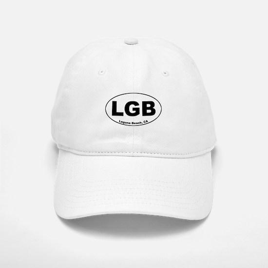 LGB (Laguna Beach) Baseball Baseball Cap