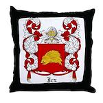 Jez Coat of Arms Throw Pillow