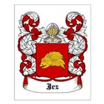 Jez Coat of Arms Small Poster