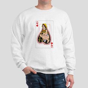 THE QUEEN OF HEARTS Sweatshirt