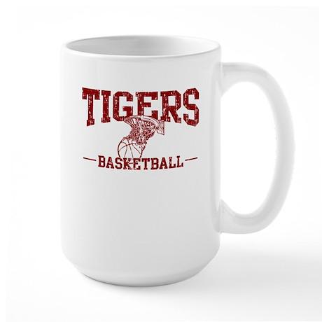 Tigers Basketball Large Mug