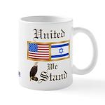 US & Israel United Mug
