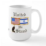 US & Israel United Large Mug