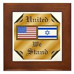US & Israel United Framed Tile