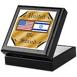 US & Israel United Keepsake Box