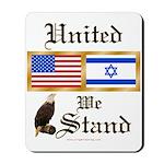 US & Israel United Mousepad