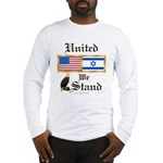 US & Israel United Long Sleeve T-Shirt
