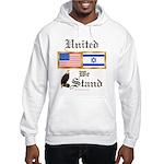 US & Israel United Hooded Sweatshirt