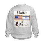 US & Israel United Kids Sweatshirt