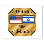 US & Israel United Small Poster