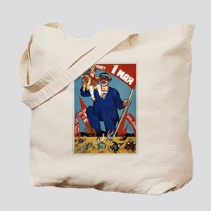 Long Live May Day USSR Tote Bag