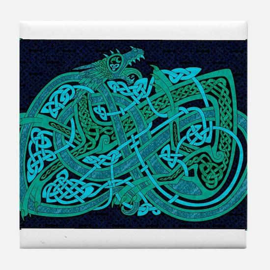 Celtic Best Seller Tile Coaster