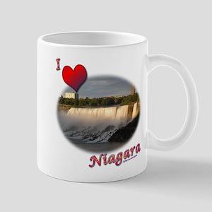 I Love Niagara Mug