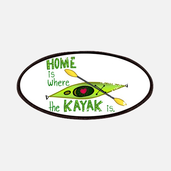 Home is Where the Kayak Is Patches