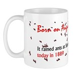 Mug: It rained ants at Strasbourg, Germany, today