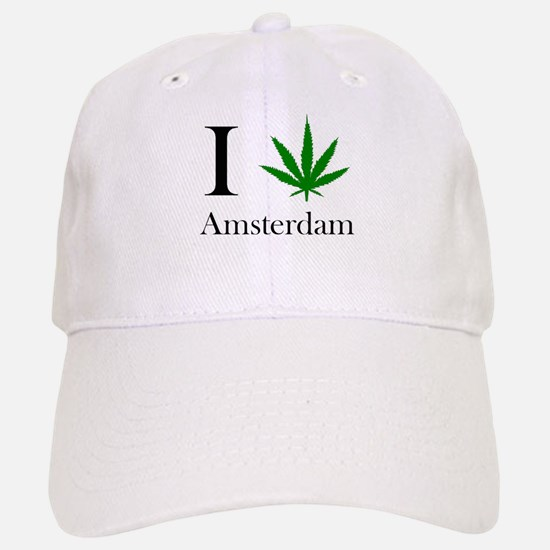 I [love] Amsterdam Baseball Baseball Cap