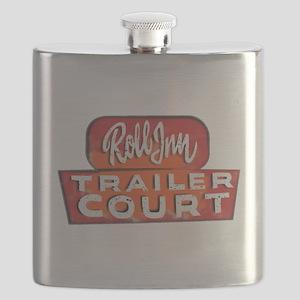 TRAILER COURT Roll INN Flask