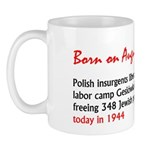 Mug: Polish insurgents liberated German labor camp