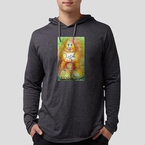 Tiki! Fun, colorful art! Mens Hooded Shirt