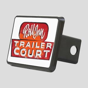 TRAILER COURT Roll INN Rectangular Hitch Cover