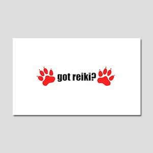 Got Reiki? Animal Car Magnet 20 X 12