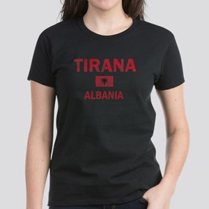 Tirana Albania Designs Women's Dark T-Shirt