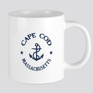 Cape Cod Anchor Stainless Steel Travel Mugs