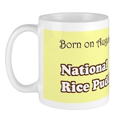 Mug: Rice Pudding Day