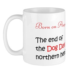 Mug: End of the Dog Days in northern hemisphere