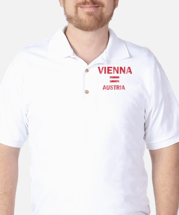 Vienna Austria Designs Golf Shirt