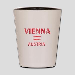 Vienna Austria Designs Shot Glass