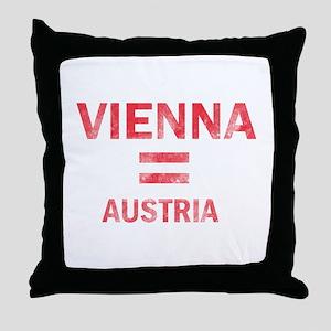 Vienna Austria Designs Throw Pillow