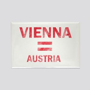 Vienna Austria Designs Rectangle Magnet