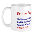 Mug: Katharine Lee Bates, American English teacher