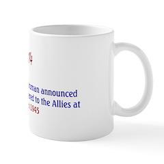 Mug: U.S. President Harry S Truman announced that