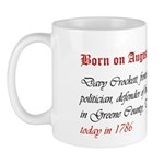 Mug: Davy Crockett, frontiersman, politician, defe