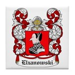 Elzanowski Coat of Arms Tile Coaster