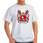 Elzanowski Coat of Arms Ash Grey T-Shirt