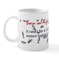 Mug: It rained fish at 2:30 p.m. in Shropshire, w