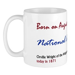 Mug: Aviation Day Orville Wright of the Wright bro