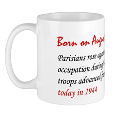 Mug: Parisians rose against German occupation duri