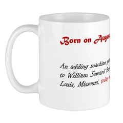 Mug: An adding machine patent was granted to Willi