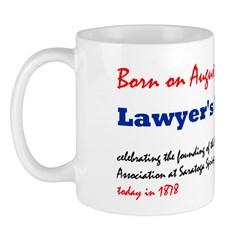 Mug: Lawyer's Day celebrating the founding of the