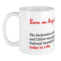 Mug: Declaration of the Rights of Man and Citizen
