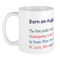 Mug: First public school kindergarten in the U.S.,