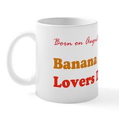 Mug: Banana Lovers Day