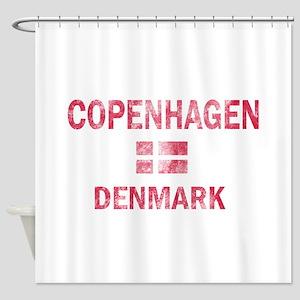Copenhagen Denmark Designs Shower Curtain