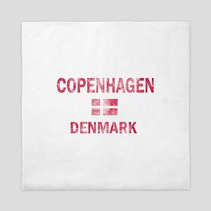Copenhagen Denmark Designs Queen Duvet